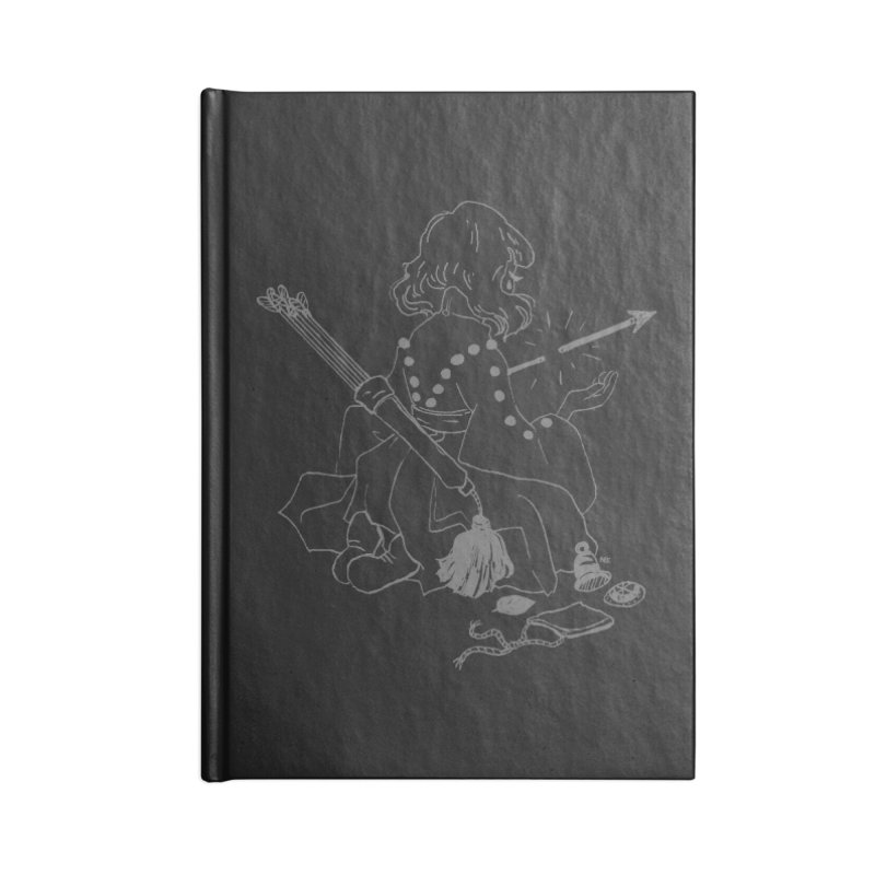 Broken Weaponry (2) Accessories Lined Journal Notebook by Ree Artwork