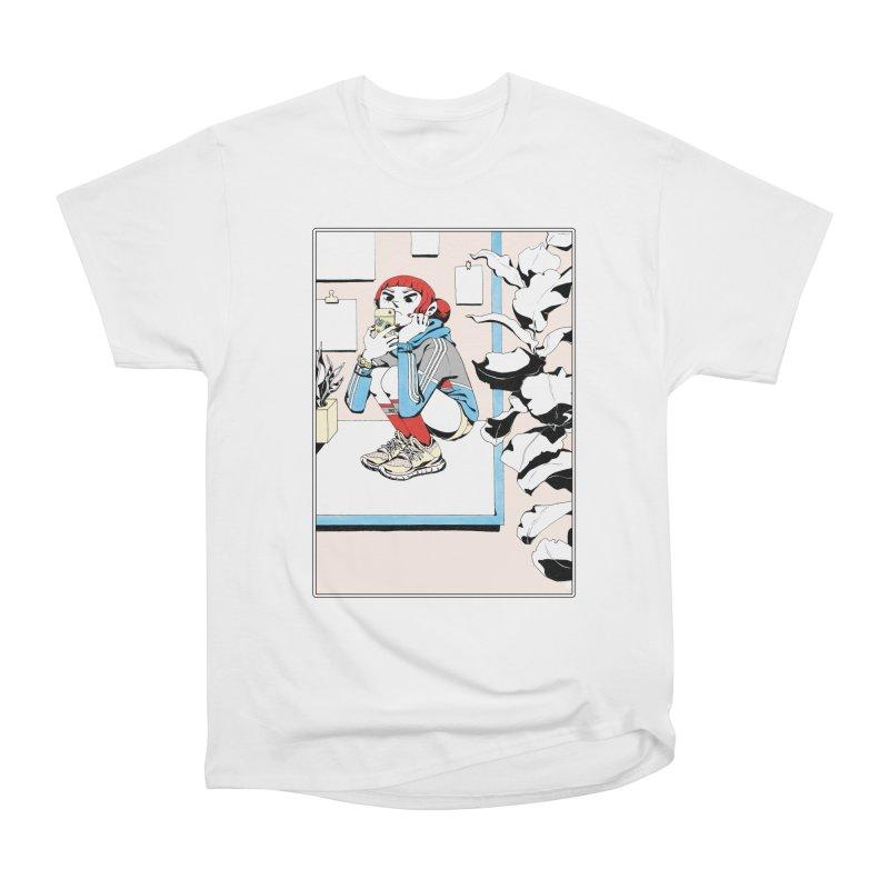 Selfie Women's Heavyweight Unisex T-Shirt by Ree Artwork