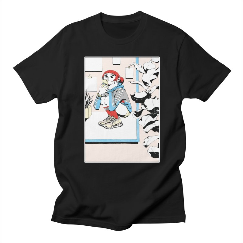 Selfie Men's T-Shirt by Ree Artwork