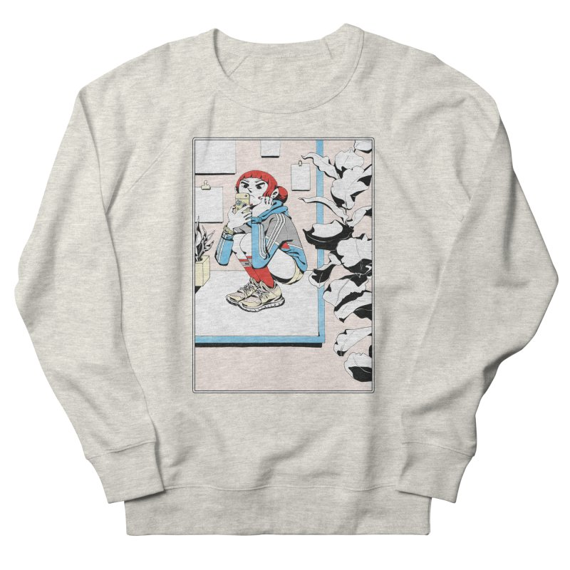 Selfie Men's Sweatshirt by Ree Artwork