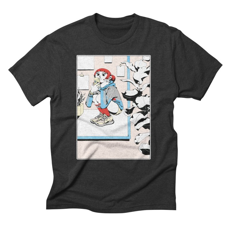 Selfie Men's T-Shirt by Ree Artwork