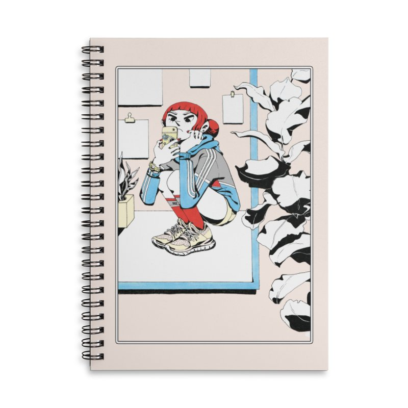 Selfie Accessories Notebook by Ree Artwork