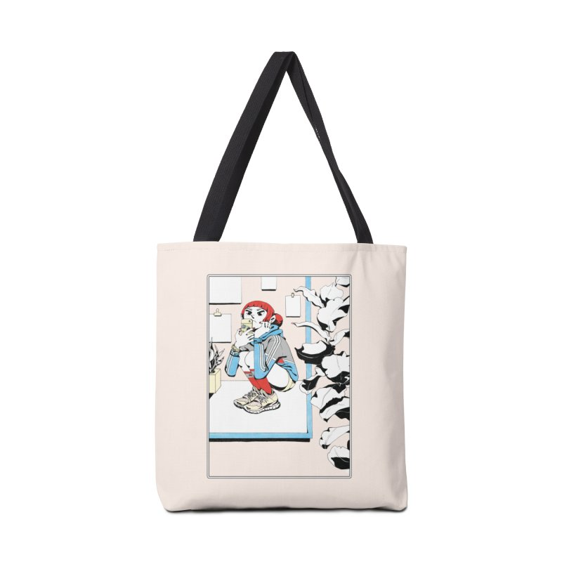 Selfie Accessories Tote Bag Bag by Ree Artwork