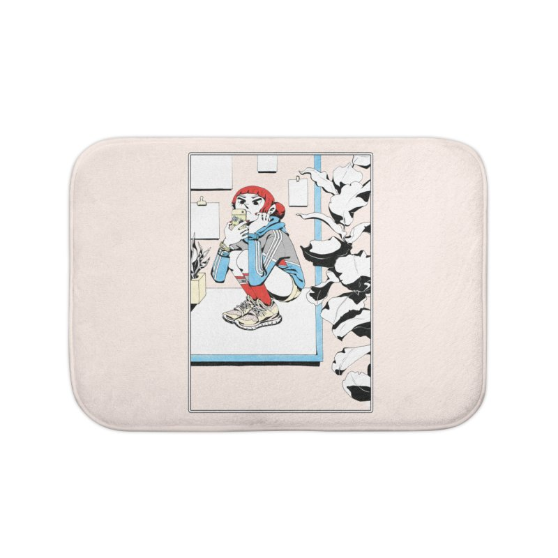 Selfie Home Bath Mat by Ree Artwork