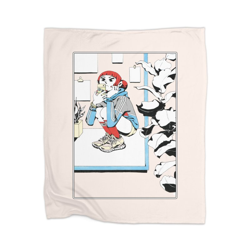 Selfie Home Blanket by Ree Artwork