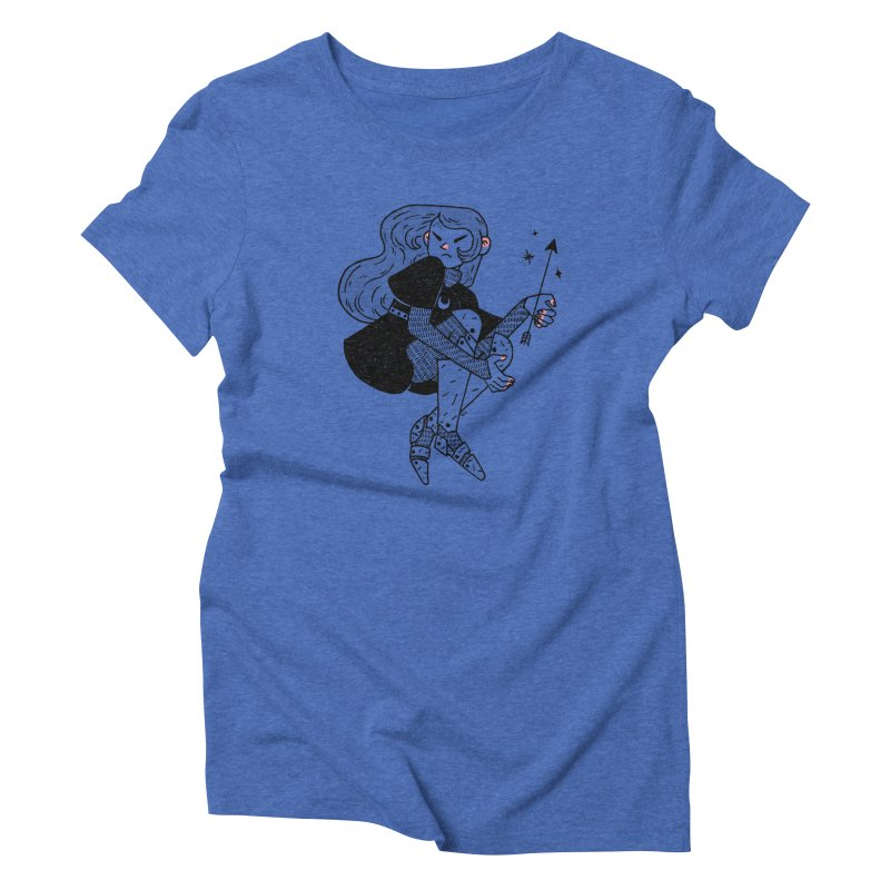 Magic Arrow Women's Triblend T-Shirt by Ree Artwork