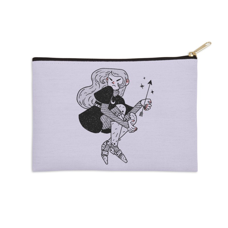 Magic Arrow Accessories Zip Pouch by Ree Artwork