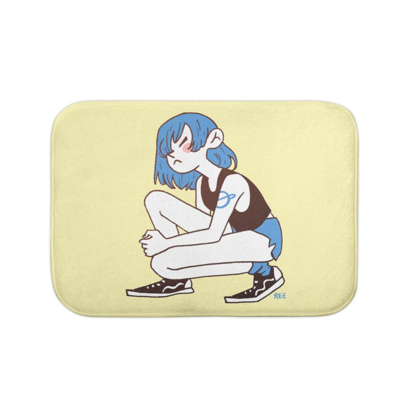 Indigo Home Bath Mat by Ree Artwork