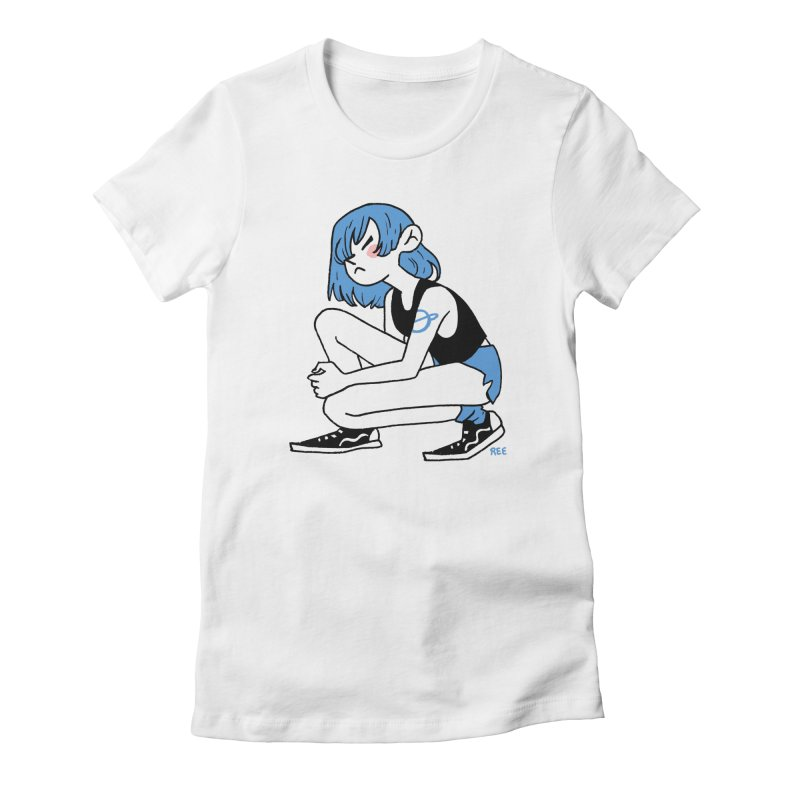 Indigo Women's T-Shirt by Ree Artwork