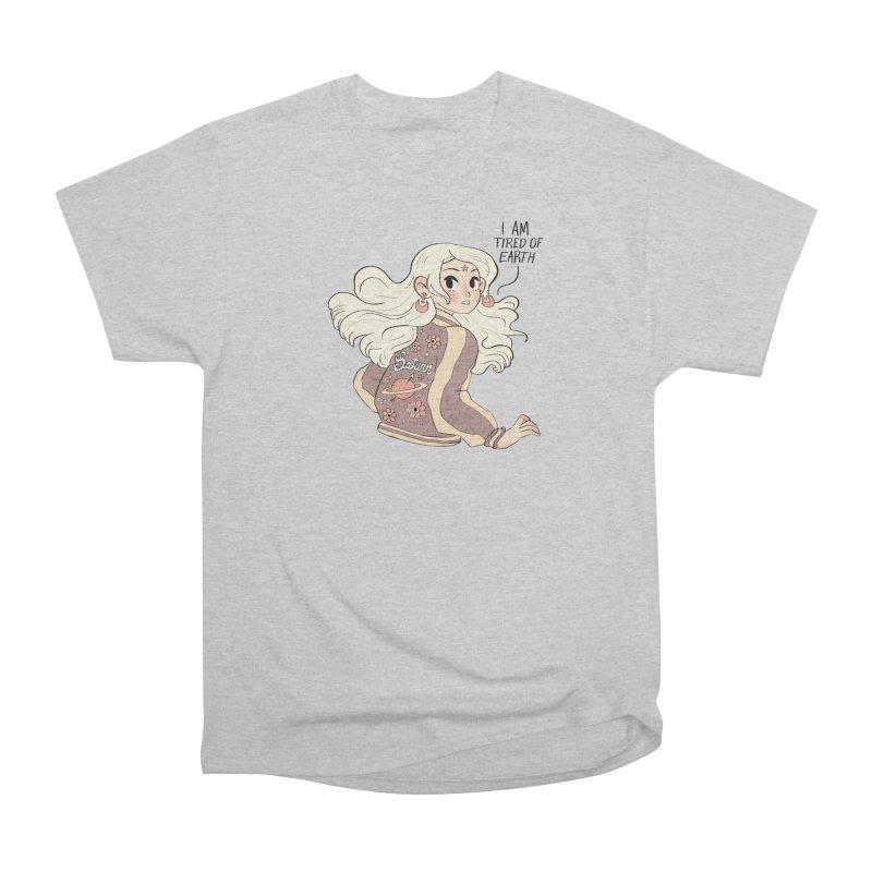 Bitter Saturnian Men's T-Shirt by Ree Artwork