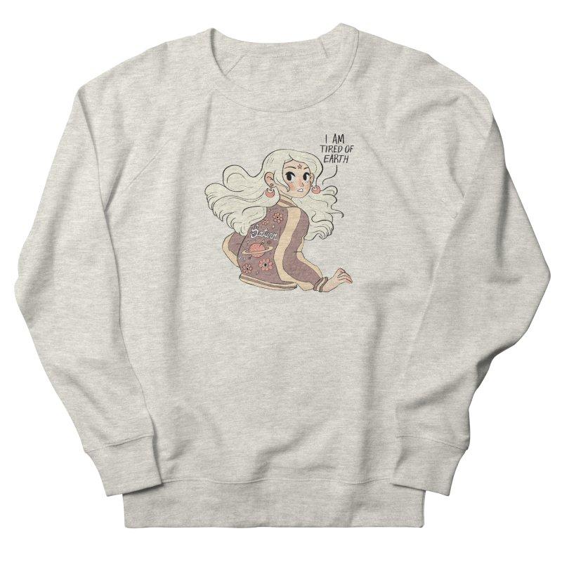 Bitter Saturnian Women's Sweatshirt by Ree Artwork