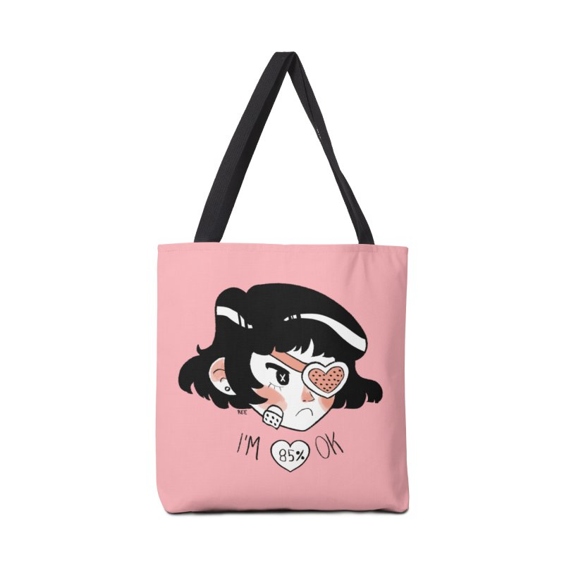 85% OK Accessories Tote Bag Bag by Ree Artwork