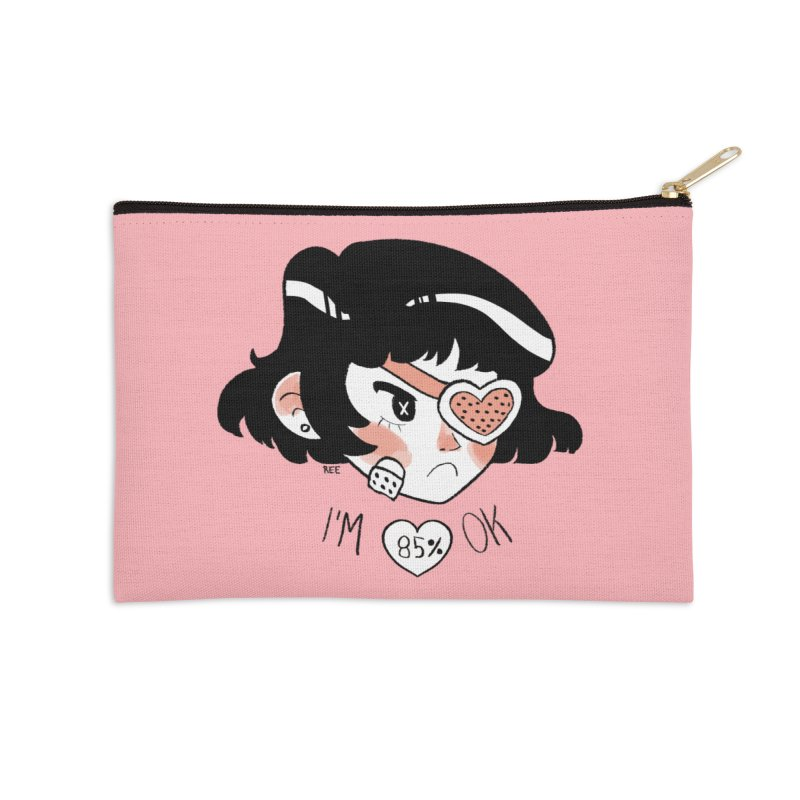 85% OK Accessories Zip Pouch by Ree Artwork