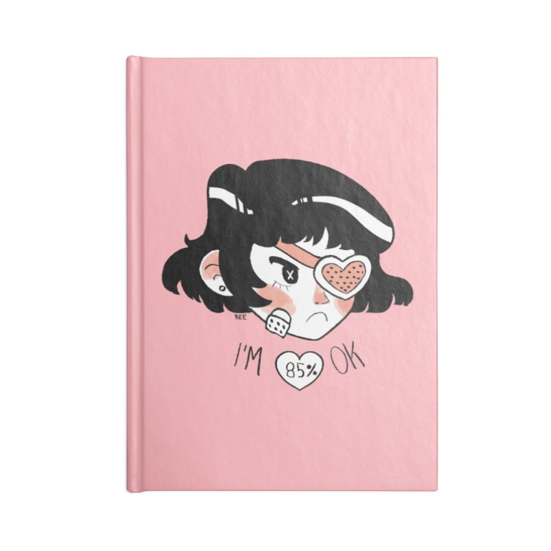 85% OK Accessories Lined Journal Notebook by Ree Artwork