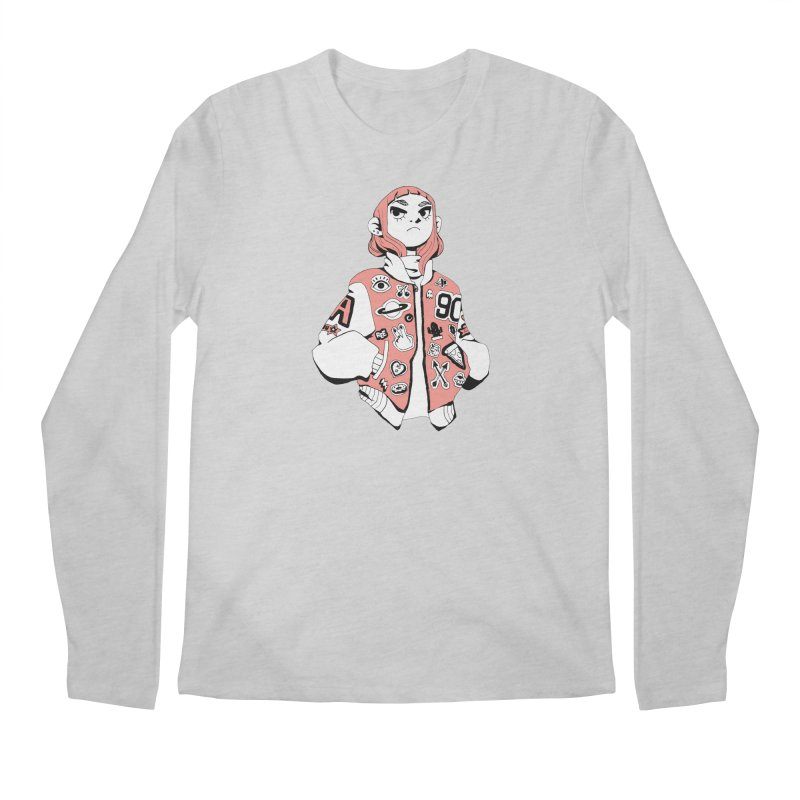 Patch Much Men's Longsleeve T-Shirt by Ree Artwork