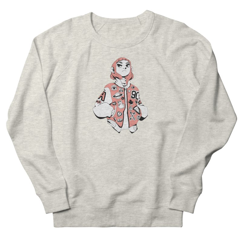 Patch Much Men's French Terry Sweatshirt by Ree Artwork