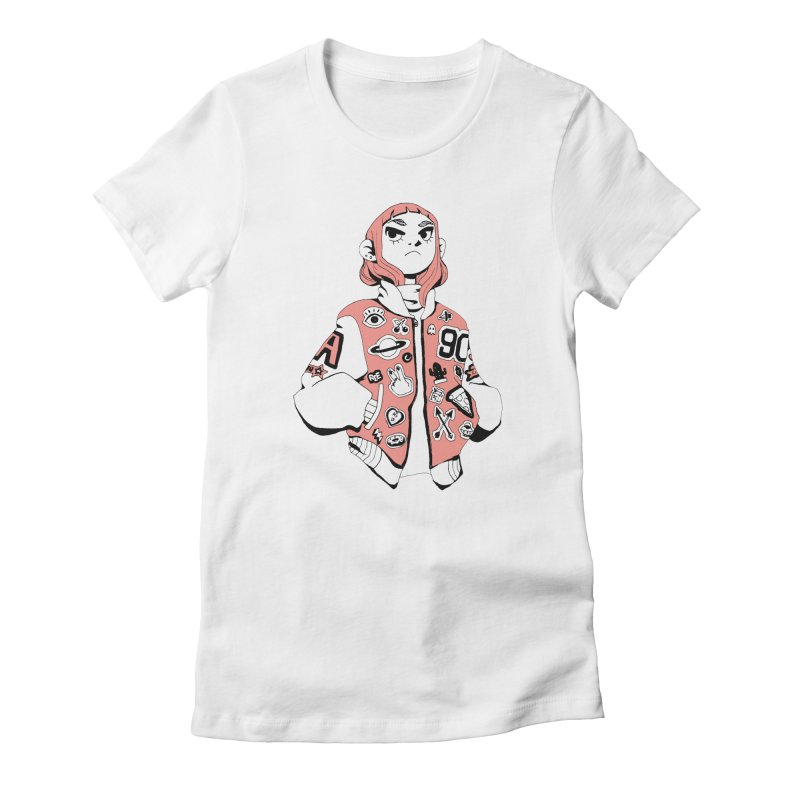 Patch Much Women's T-Shirt by Ree Artwork