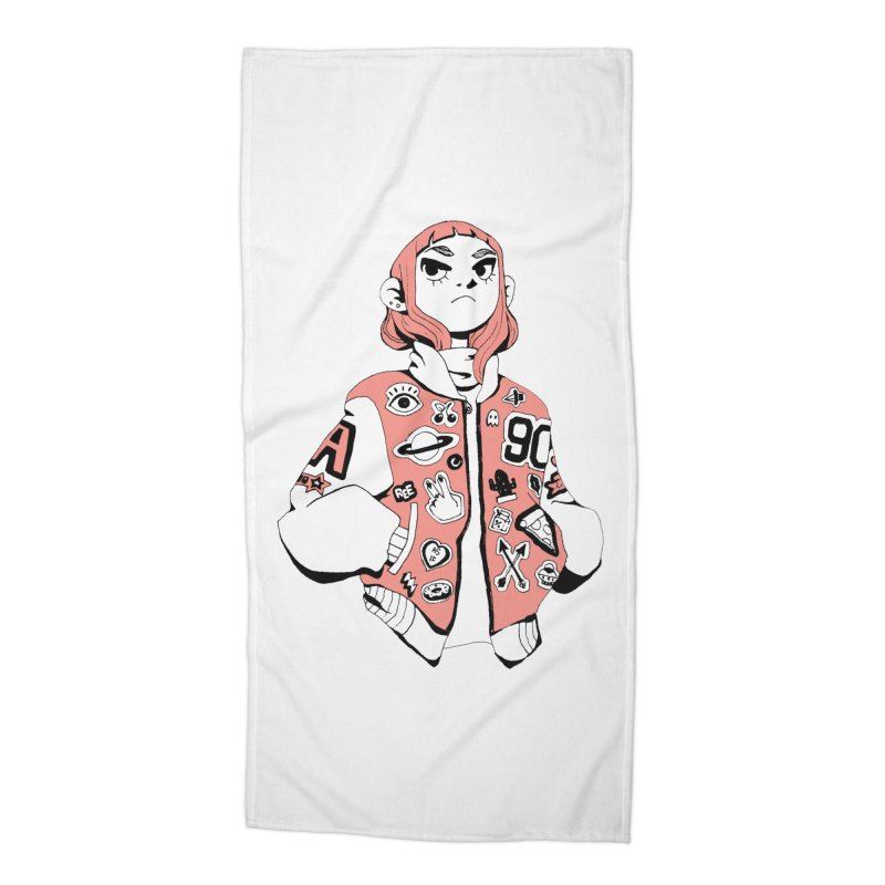 Patch Much Accessories Beach Towel by Ree Artwork