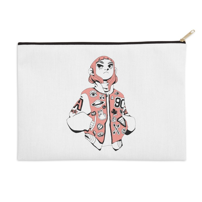 Patch Much Accessories Zip Pouch by Ree Artwork