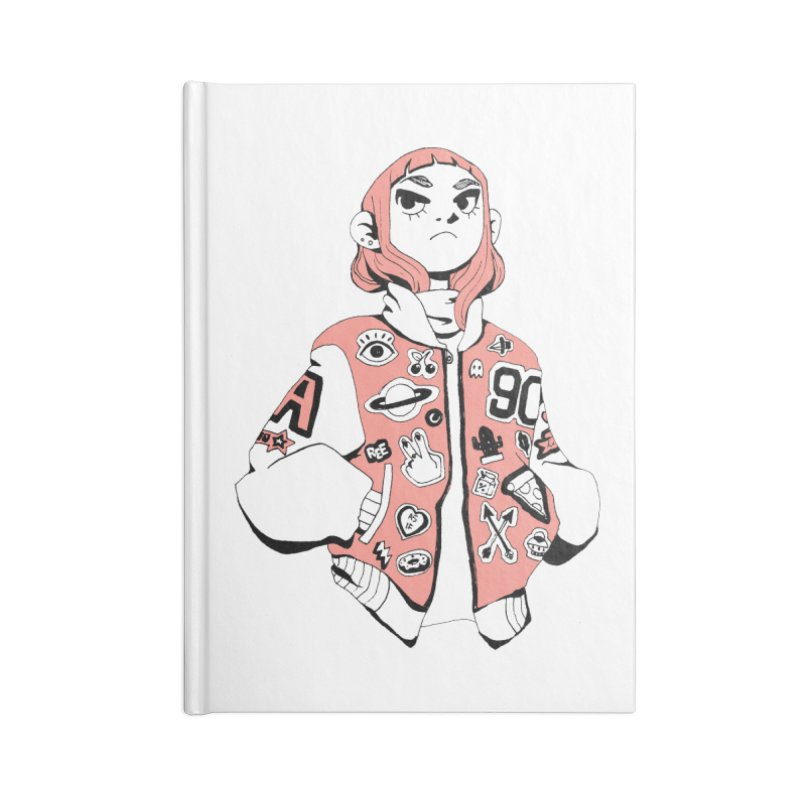 Patch Much Accessories Lined Journal Notebook by Ree Artwork