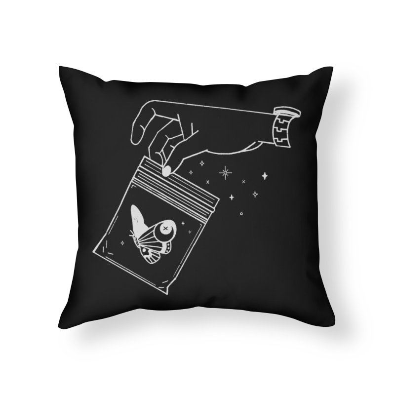 Baggie Home Throw Pillow by Ree Artwork