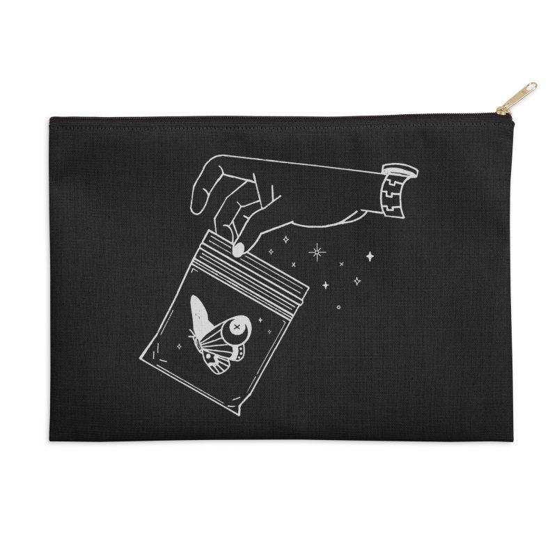 Baggie Accessories Zip Pouch by Ree Artwork