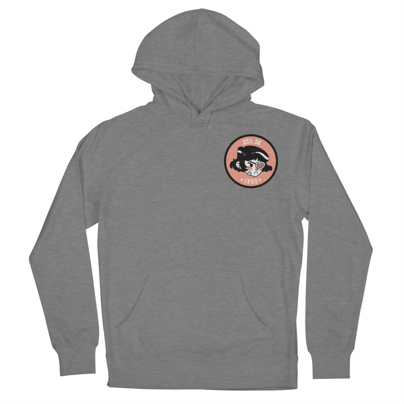 85% OK (Badge) Women's French Terry Pullover Hoody by Ree Artwork