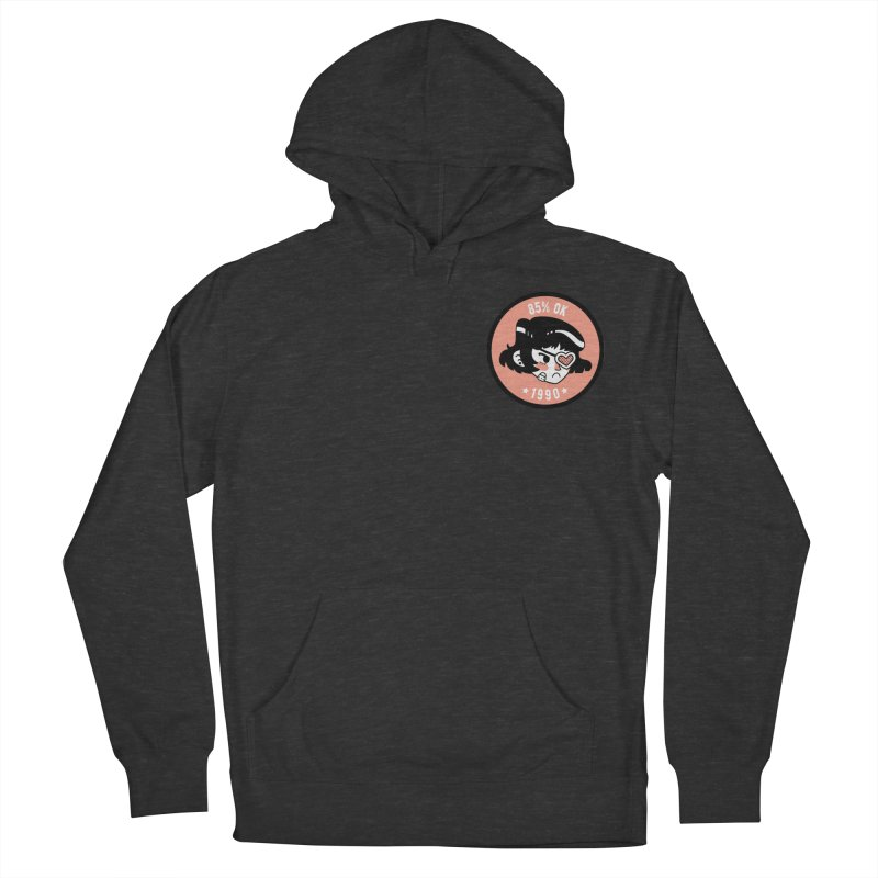 85% OK (Badge) Men's French Terry Pullover Hoody by Ree Artwork