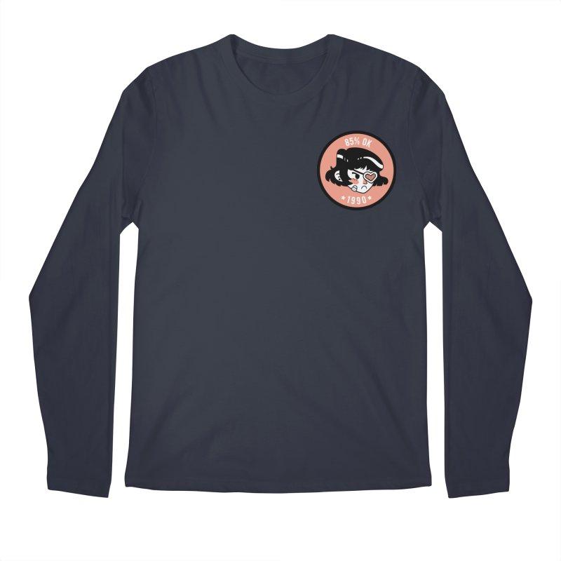 85% OK (Badge) Men's Longsleeve T-Shirt by Ree Artwork