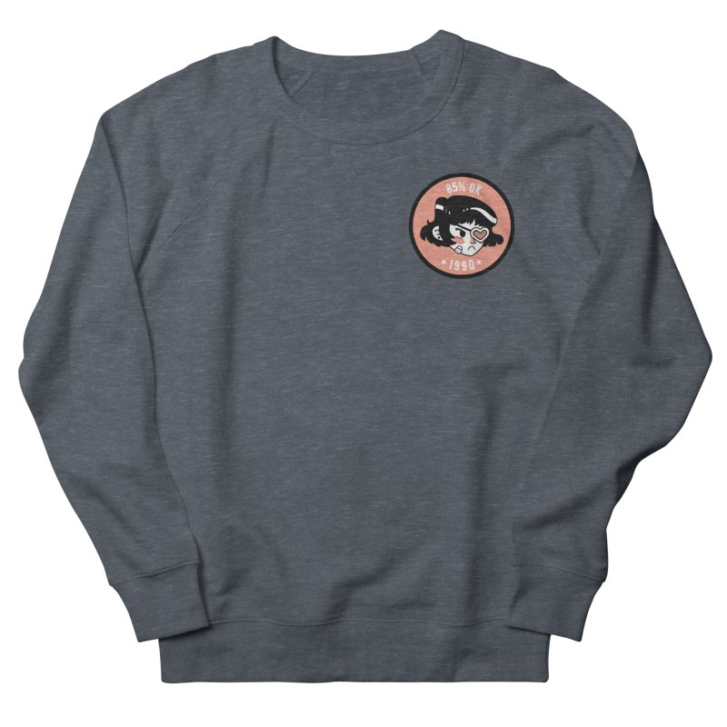 85% OK (Badge) Women's Sweatshirt by Ree Artwork
