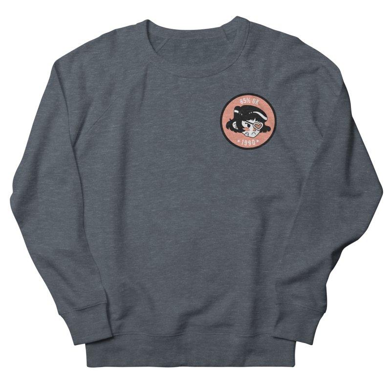 85% OK (Badge) Men's French Terry Sweatshirt by Ree Artwork