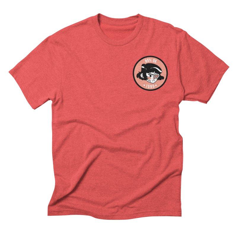 85% OK (Badge) Men's T-Shirt by Ree Artwork