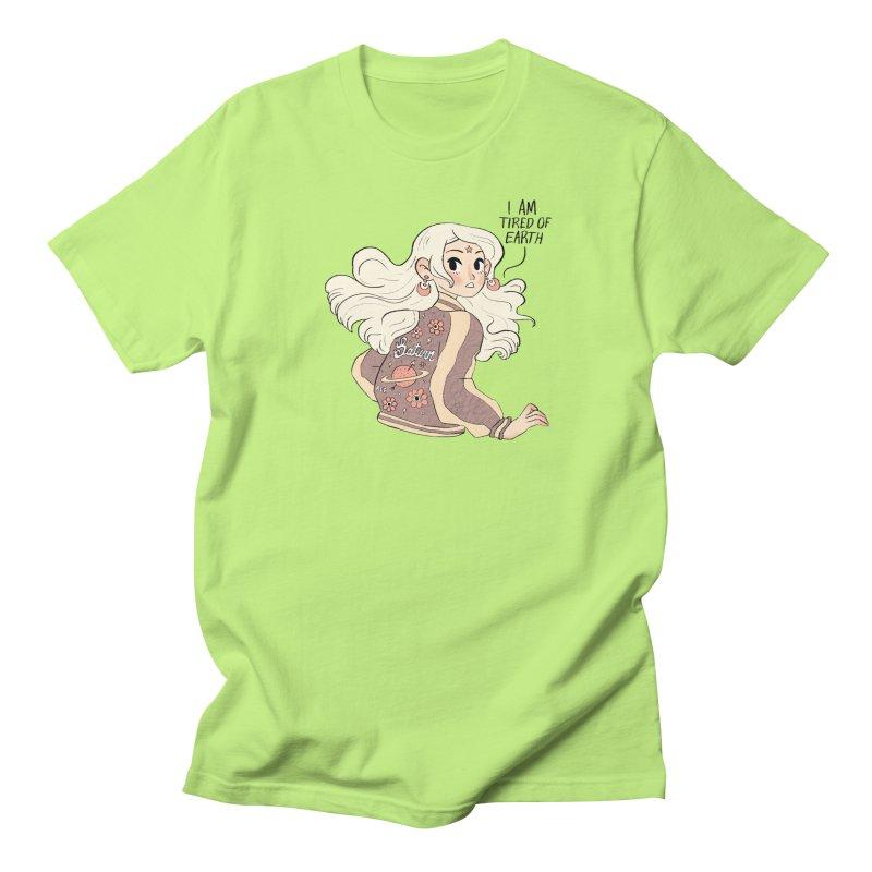 Bitter Saturnian! Men's Regular T-Shirt by Ree Artwork
