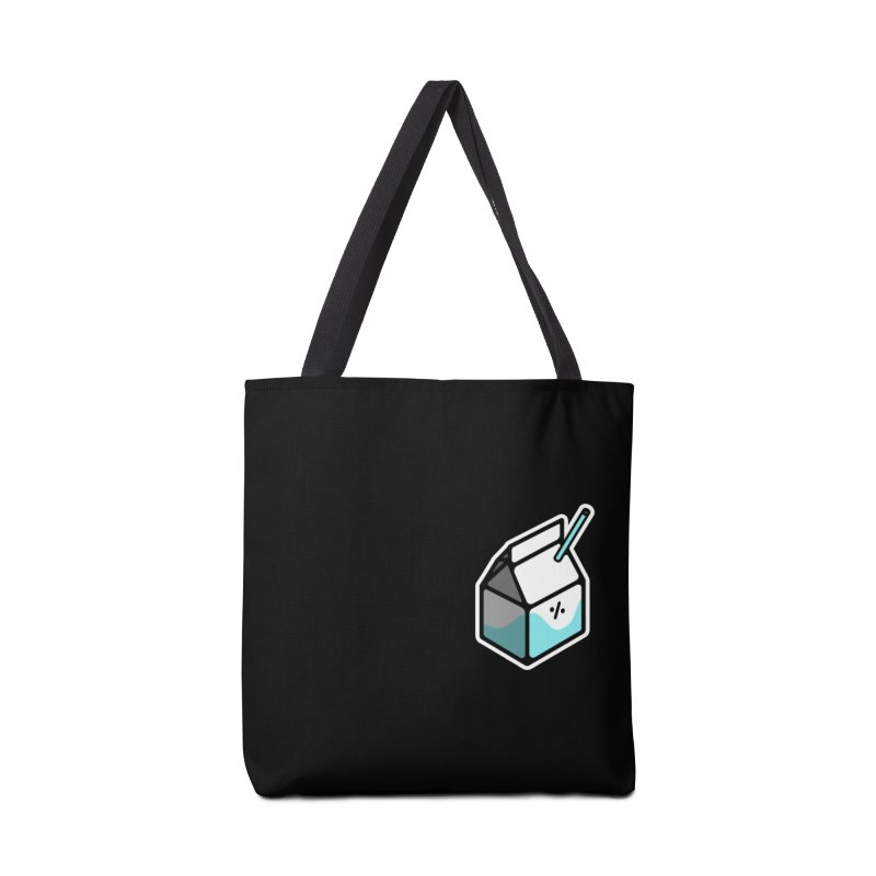 Milk Percent Accessories Tote Bag Bag by Ree Artwork