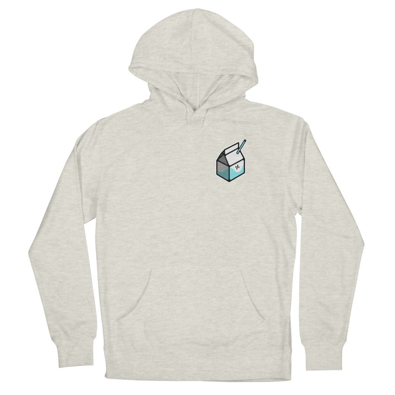 Milk Percent Men's Pullover Hoody by Ree Artwork