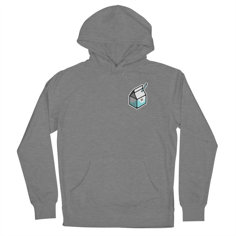 Milk Percent Women's French Terry Pullover Hoody by Ree Artwork