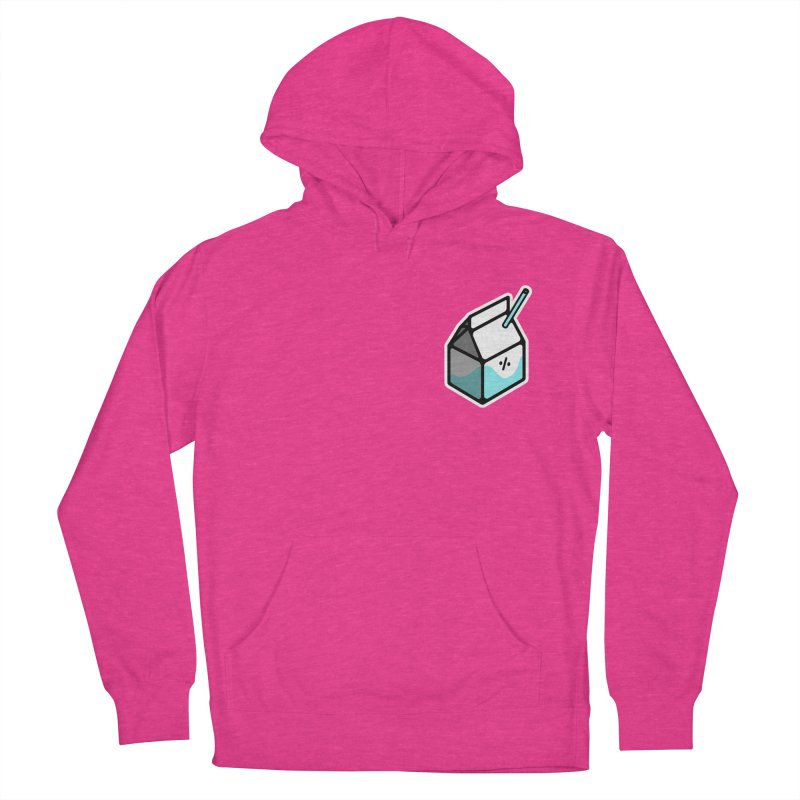 Milk Percent Men's French Terry Pullover Hoody by Ree Artwork