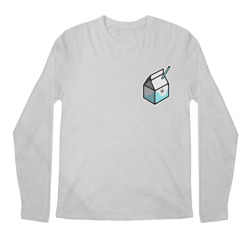 Milk Percent Men's Longsleeve T-Shirt by Ree Artwork