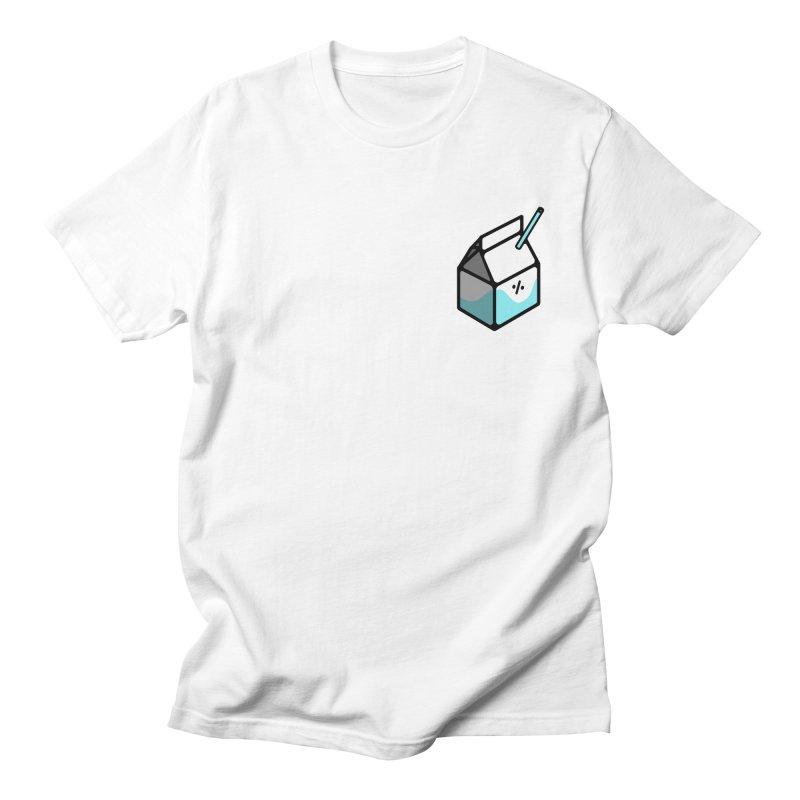 Milk Percent Women's Regular Unisex T-Shirt by Ree Artwork