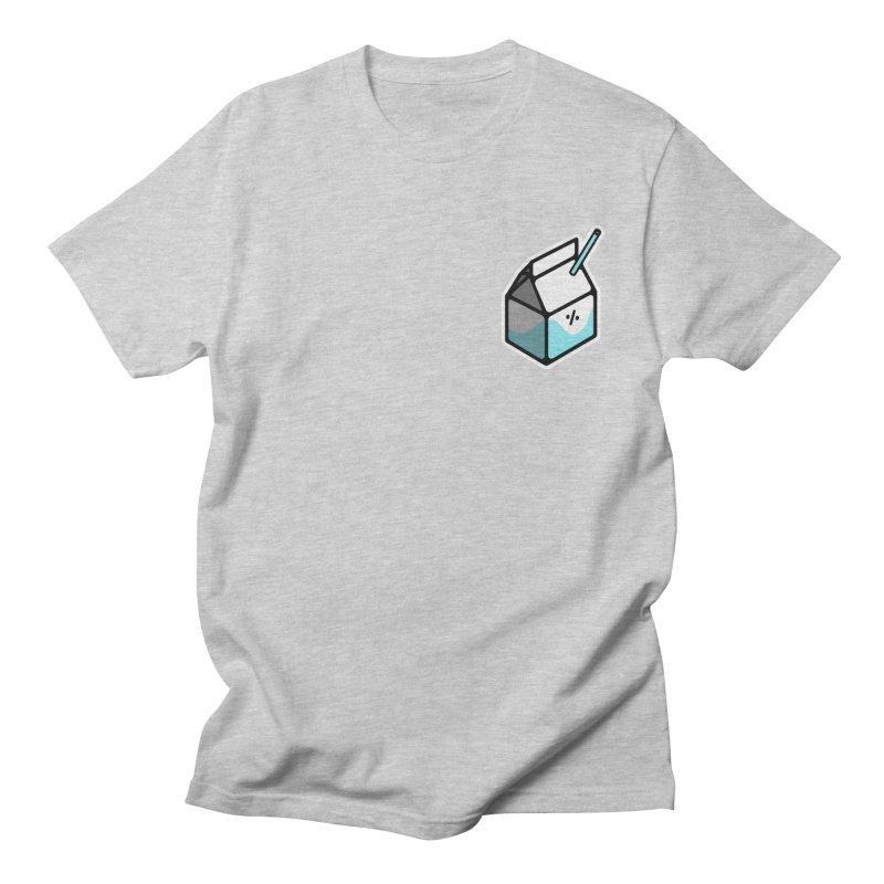 Milk Percent Men's Regular T-Shirt by Ree Artwork