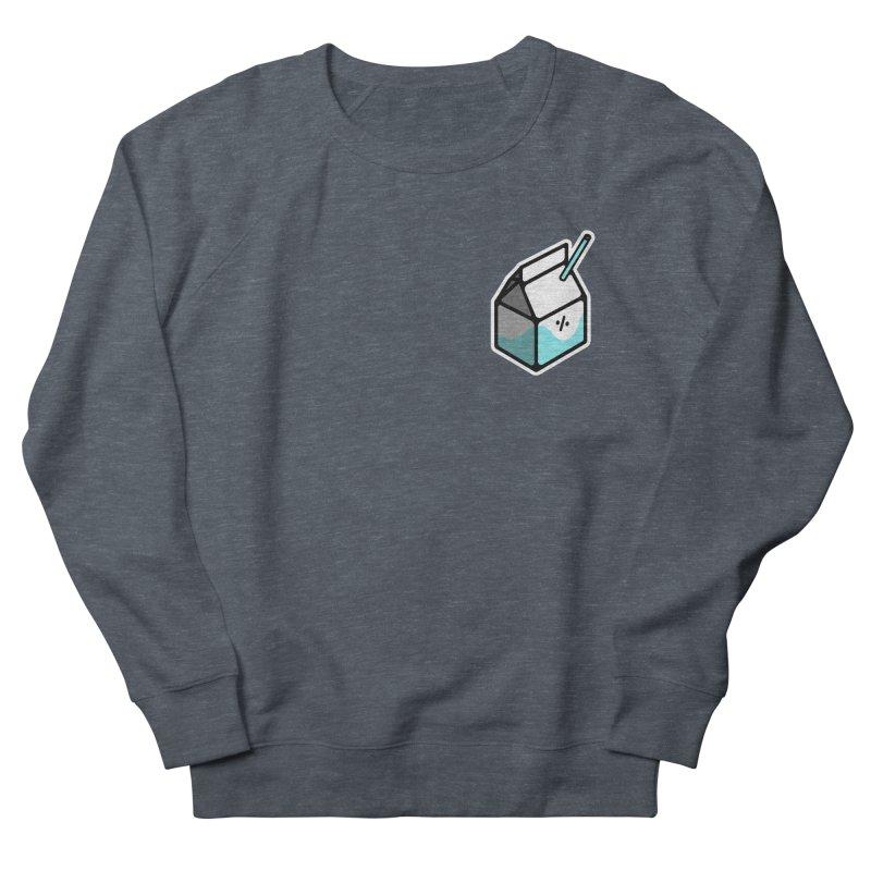 Milk Percent Women's French Terry Sweatshirt by Ree Artwork