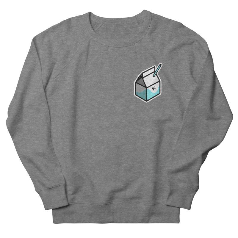 Milk Percent Men's Sweatshirt by Ree Artwork