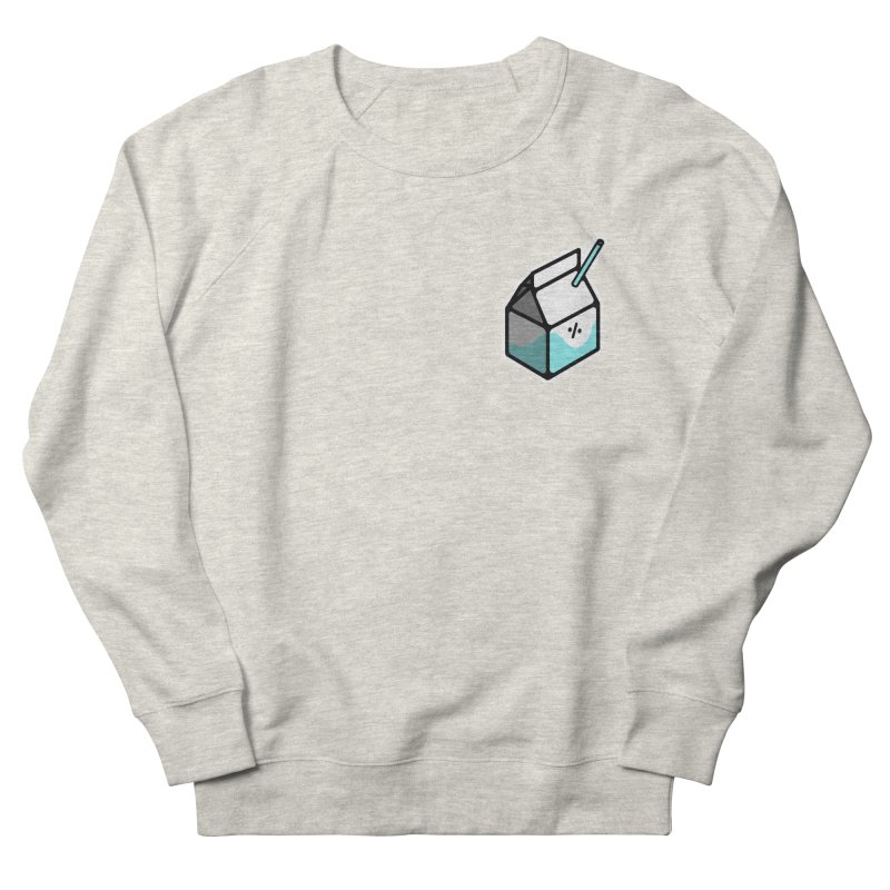 Milk Percent Men's Sweatshirt by Ree Artwork