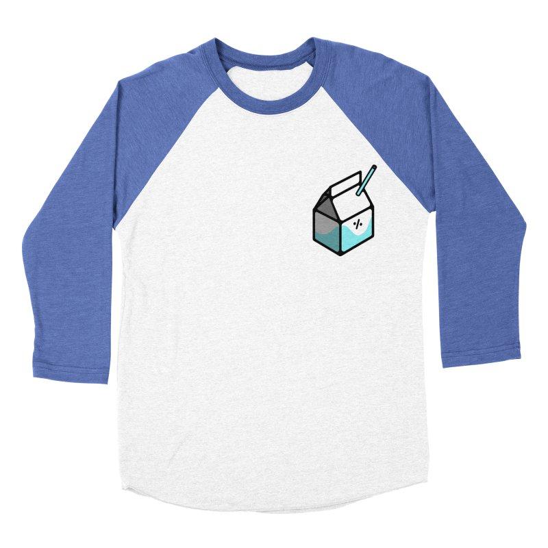 Milk Percent Women's Baseball Triblend Longsleeve T-Shirt by Ree Artwork