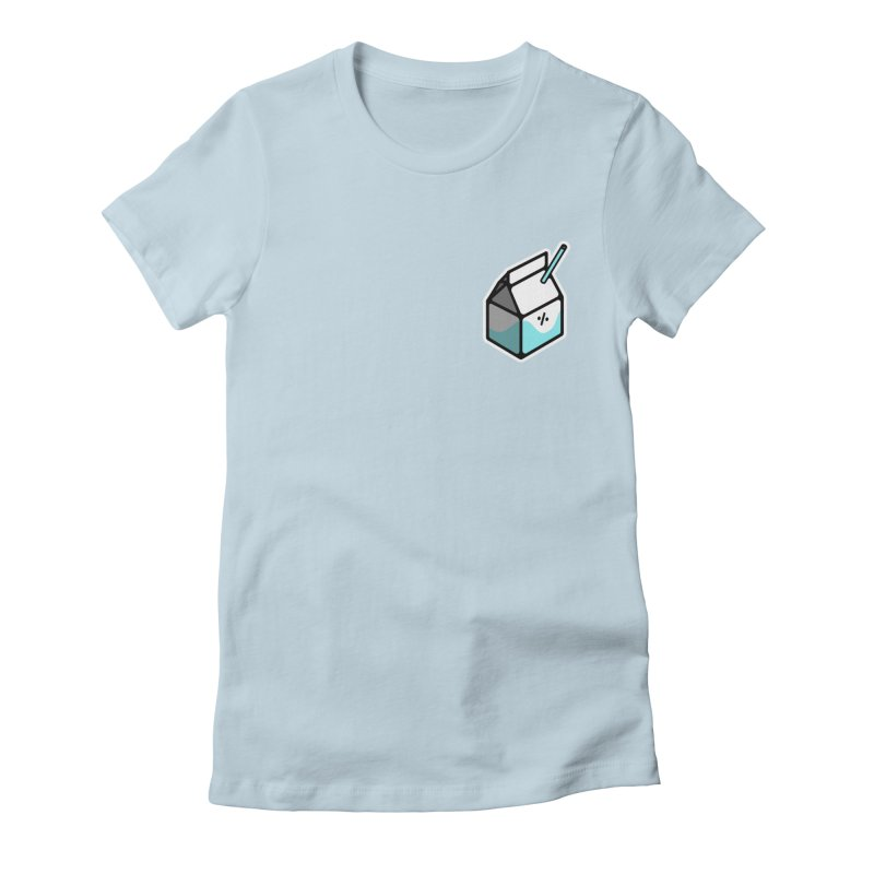 Milk Percent Women's T-Shirt by Ree Artwork