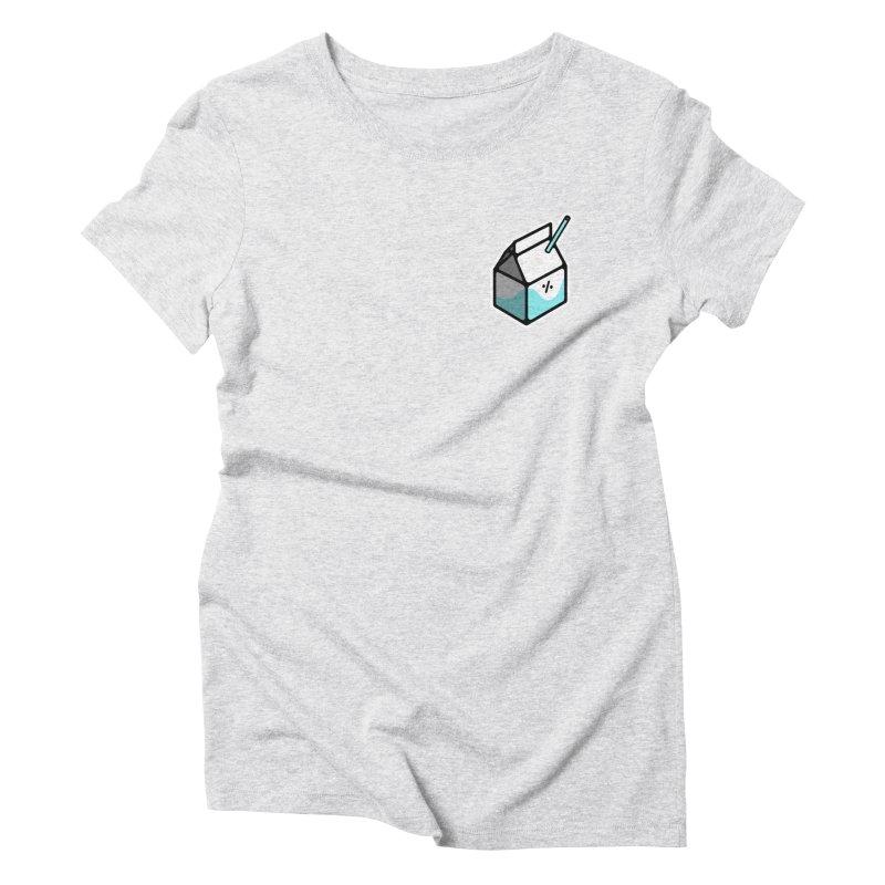 Milk Percent Women's T-Shirt by Ree Artwork