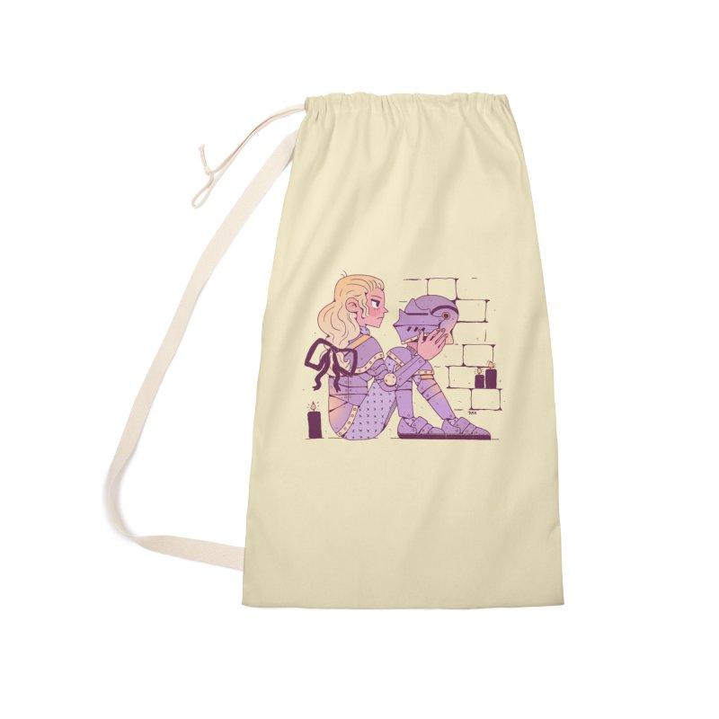 Long Nights Accessories Bag by Ree Artwork
