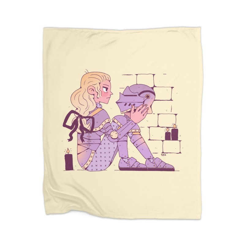 Long Nights Home Blanket by Ree Artwork