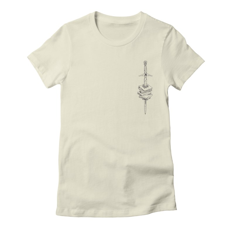 Read On! Women's Fitted T-Shirt by Ree Artwork