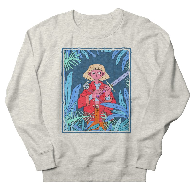 Fearless Women's French Terry Sweatshirt by Ree Artwork